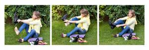 """Marlies Haas versucht """"fremde Schuhe anzuziehen"""""""