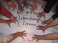 """Plakat """"Lebenslanges Lernen"""""""