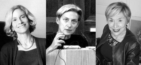 Martha Nußbaum, Judith Butler und Julia Kristeva