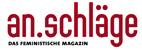 Logo: an.schläge DAS FEMINISTISCHE MAGAZIN