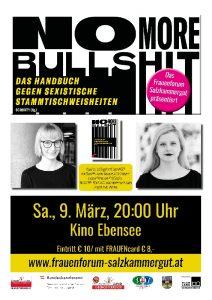 No more bullshit @ Kino Ebensee