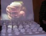 Kunstwerk aus Kaffeebechern von Juliane Leitner