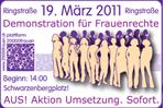 Aufruf zur Teilnahme an der Demonstration am 19. März 2011