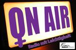 """Das Logo der Frauenradioredaktion """"Radio mit Leichtigkeit"""""""