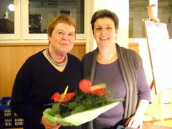 Helene Benedikt und Gertrude Piontek