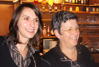 Anja Salomonowitz und Gertrude Piontek
