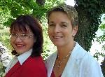 Mag.a  Dr.in Nicole Frais-Huber und Doris Planitzer