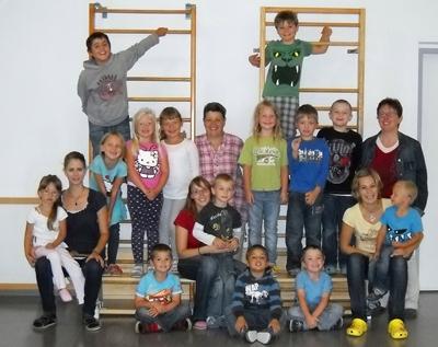 Foto der Sommerkindergartengruppe